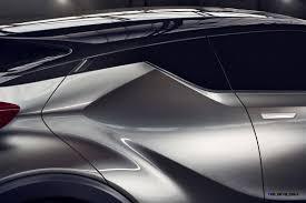 lexus nx vs toyota chr 2015 toyota c hr concept 4 door