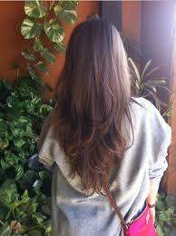 Frisuren Lange Gerade Haare by V Schnitt Für Lange Haare
