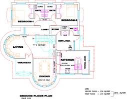 floor plans and elevations of houses kerala villa plan elevation home design floor plans house plans