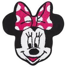 Minnie Mouse Bathroom Rug Disney Minnie Mouse Bath Rug 26 5 By 28 Inch Check This