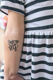 tattoo ideas birthdays temporary tattoo from modern glam you re so fly birthday party at