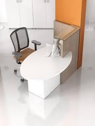 bureaux d accueil petit bureau d accueil compact novo pas cher delex mobilier