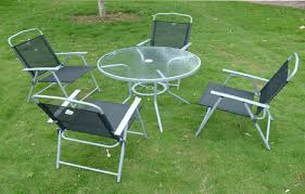 Patio Sets Ikea Ikea Outdoor Dining Set Glass Top Table With Folding Chairs Patio