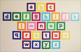 Alphabet Wall Decals For Nursery Wall Decal Design Colourful Alphabet Decals For Walls Decor