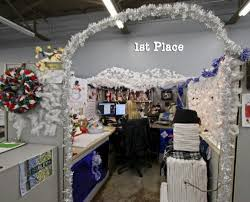 Classy Cubicle Decorating Ideas Cubicle Christmas Decorating Contest Ideas Designcorner