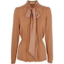 blouses with bows at neck bow tie neck blouses polyvore