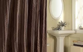 Gray Ruffle Shower Curtain Shower Extra Long Brown Shower Curtain Beautiful Shower Curtains