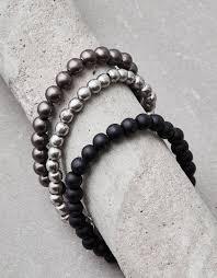 metal beads bracelet images Aeo metal bead bracelet bundle silver american eagle outfitters