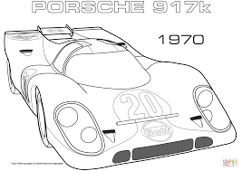 1970 porsche 917k coloring page free printable coloring pages
