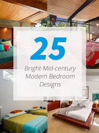 Bright Midcentury Modern Bedroom Designs Home Design Lover - Bright bedroom designs