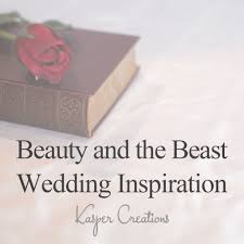 disney inspired wedding 8 beauty and the beast theme