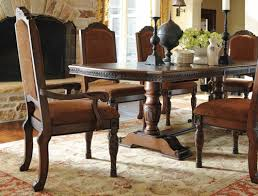 north shore double pedestal dining table lexington overstock