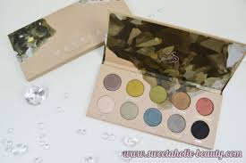 zoeva cosmetics mixed metals eyeshadow palette sweetaholic beauty