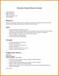 Business Analyst Profile Resume Sample Resume Business Administration Free Resume Example And
