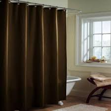 Chocolate Brown Shower Curtain Shower Curtain Liners Fabric And Peva Vinyl Shower Liners