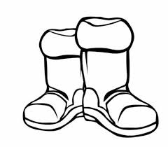coloring pages about winter boots winter clothes coloring page preschool in snazzy print 530 462