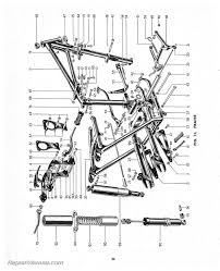triumph replacement parts manual 1955 speed twin thunderbird tiger