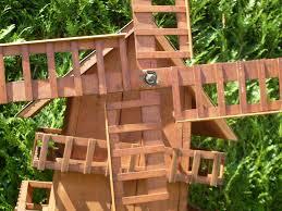 Comment Fabriquer Une Maison En Bois Moulin A Vent