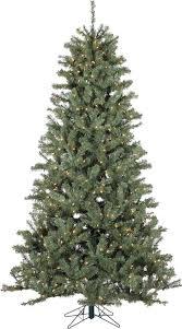 vickerman pre lit 7 5 green spruce tree artificial tree