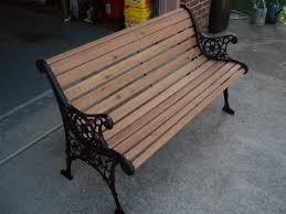 how to make a park bench ideas