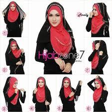 tutorial hijab paris ke pesta 25 kreasi tutorial hijab pesta simple terbaru 2018