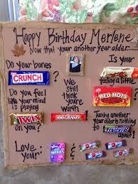 candy for birthdays birthday candy bar poem 80th birthday ideas candy
