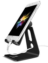 Cell Phone Holder For Desk Amazon Com Adjustable Cell Phone Stand Lamicall Iphone Stand