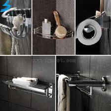 china stainless steel towel rack towel bar in bathroom accessories