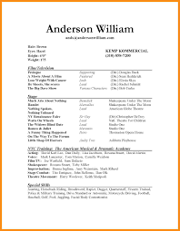 resume acting child actor sample resume child actor sample resume are examples