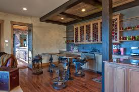 Next Bar Table Saddle Bar Stools In Basement Traditional With Family Room Bar