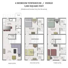 Townhome Floorplans Apartments In College Station The Junction