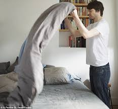 Life Comfort Sheets Ugh Single Men Change Bed Sheets Just Four Times A Year And