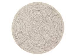cadre paillasson interieur tapis rond intérieur extérieur en polypropylène spirale