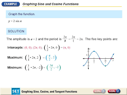 graphing sine and cosine functions ppt video online download