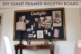 remodelaholic build a giant bulletin board for under 50