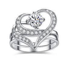 heart shaped wedding rings heart shaped wedding rings ebay