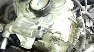 gm 3 8 coolant bypass elbow leak tensioner repair youtube