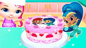 real cake maker 3d shimmer and shine zeta birthday cake fun kids