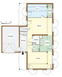 plan maison en u ouvert plan maison contemporaine en bois rez de chaussée u003cbr u003e u003cbr