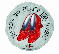 Wizard Of Oz Home Decor by Amazon Com Spoontiques Ruby Slippers Stepping Stone Outdoor