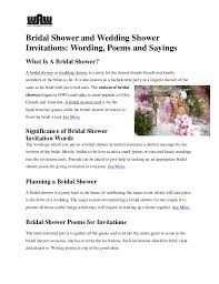 words for wedding shower card bridal shower and wedding shower invitations wording poems and sayin
