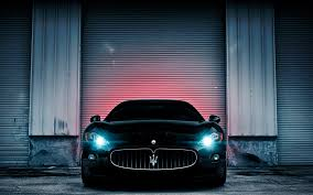 maserati granturismo matte black daily wallpaper maserati granturismo i like to waste my time