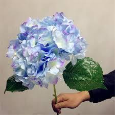 wholesale hydrangeas 2018 artificial hydrangea flower 80cm 31 5 single hydrangeas
