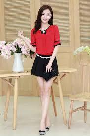 blouse wanita blouse wanita online terbaru bahan sifon free bross b2845