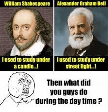 Graham Meme - william shakespeare alexander graham bell iused to study under lused