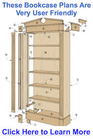Woodworking Plans Bookshelves by Bookcase Plans Bookcase Plans Biscuits And A Young Helper Get Our