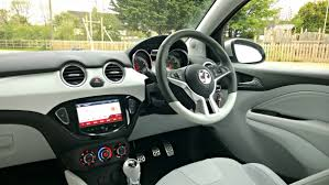 vauxhall corsa inside vauxhall adam full on the road review