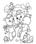 pigs coloring sheets bluebonkers