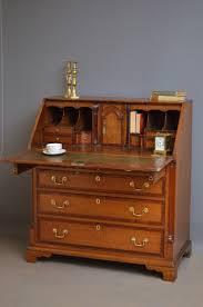 fine georgian oak bureau antique writing desk 373703