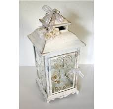 wedding lantern centerpiece 10in vintage antique ivory u0026